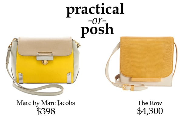 Practical or Posh? Colorblock Handbags