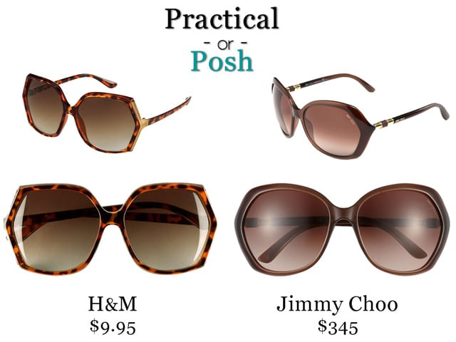 Practical or Posh: Retro Sunglasses
