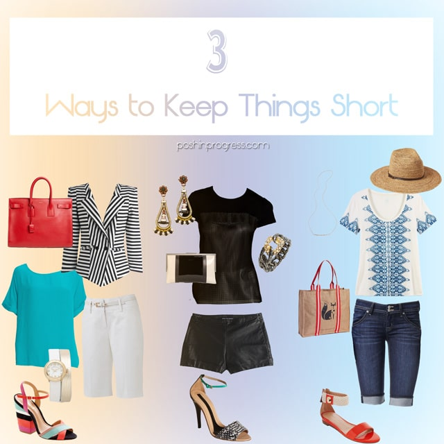 Three Ways to Wear Shorts