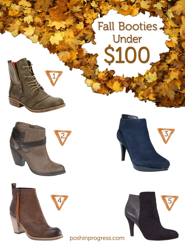 Fall Booties: Under $100, $200, $500