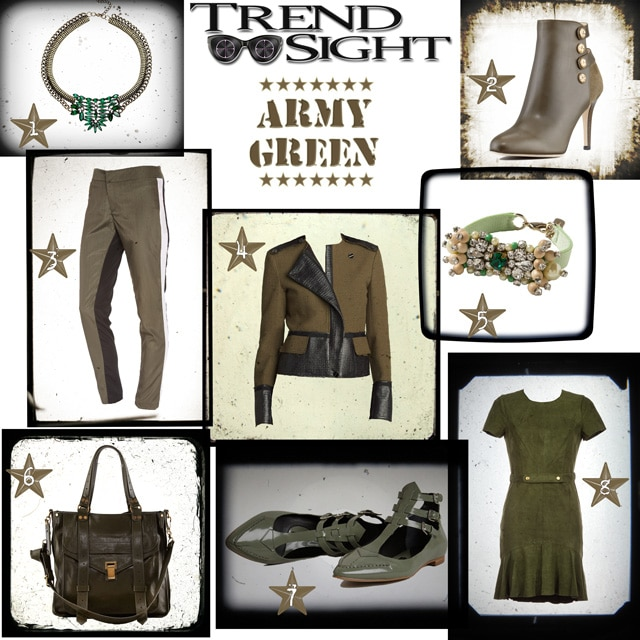 Trend Sight: Army Green Trend
