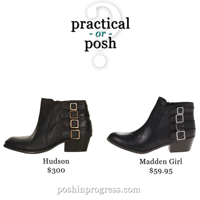 Practical or Posh: Fall Boots