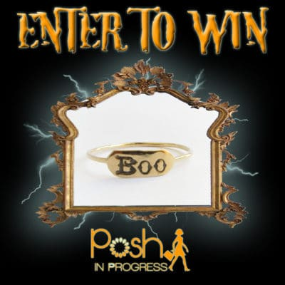 BOO Ring Halloween Giveaway
