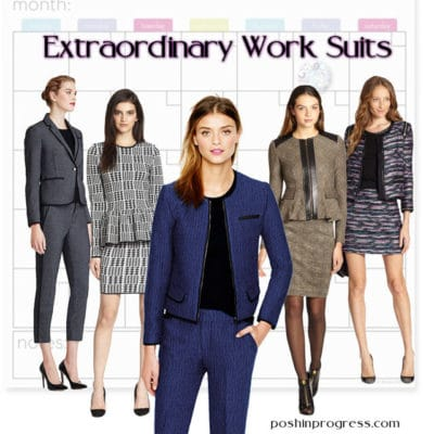 5 Extraordinary Head-Turning Women's Work Suits