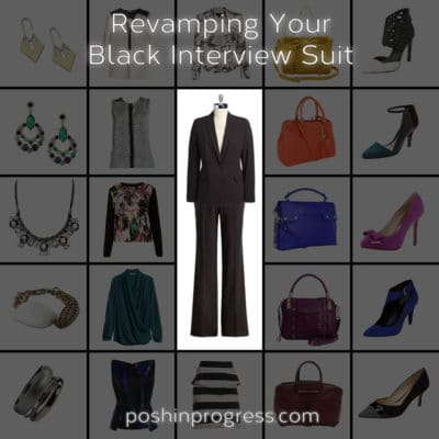 Revamp Your Black Interview Suit