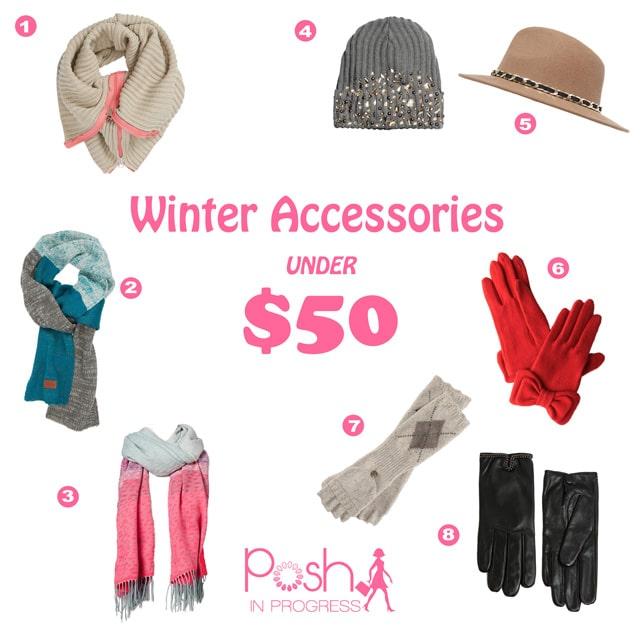 winter accessories for women under $50