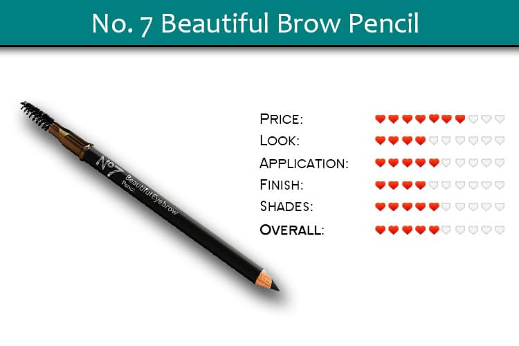 No. 7 Beautiful Brow Pencil