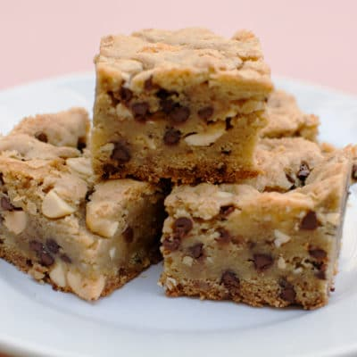 Peanut Chocolate Chip Cookie Bars