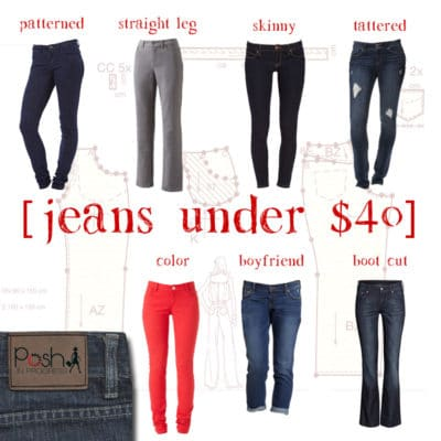 Jeans for Women on a Budget, All Under $40
