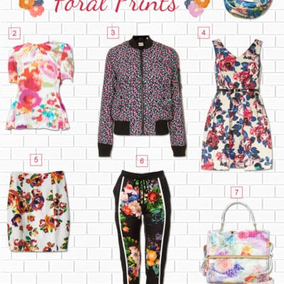 Floral Print Trend