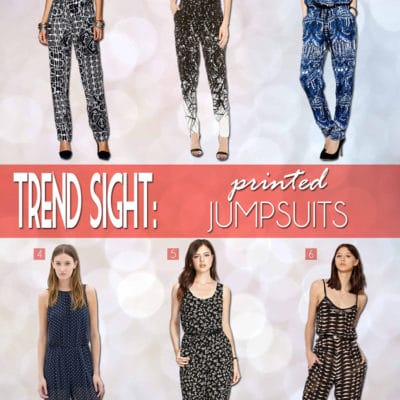 Trend Sight: Women's Jumpsuits