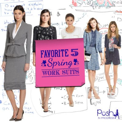 Spring Work Suits for Women