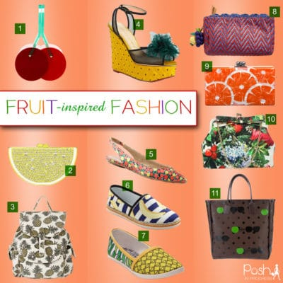 Fruit Inspired Fashion Accessories
