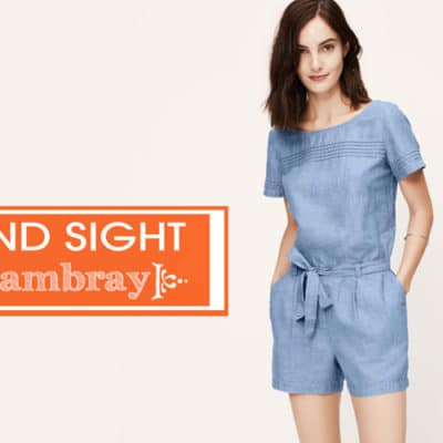 Chambray Fashion Trend for Women