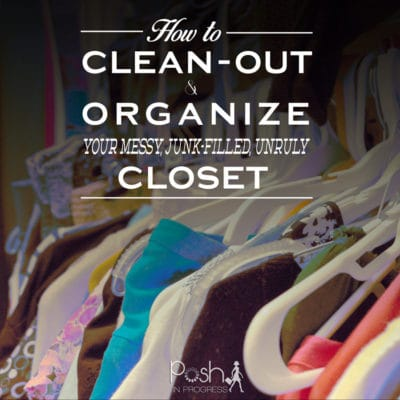 How to Clean and Organize a Closet