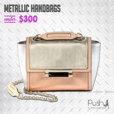 Metallic Handbags Under $300