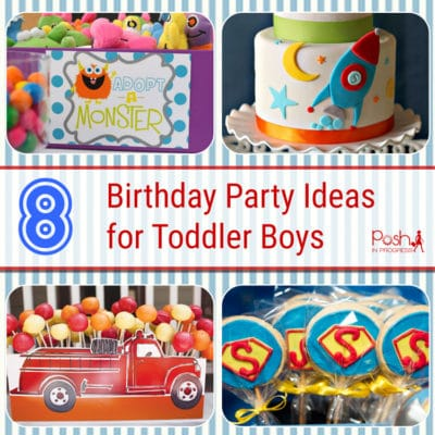 Toddler Boy Birthday Party Ideas