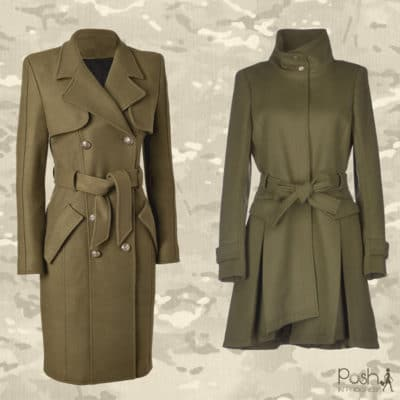 Practical or Posh: Wool Military Coats