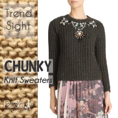 Trend Sight: Chunky Knit Sweaters