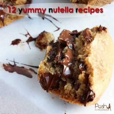12 Yummy Nutella Recipes