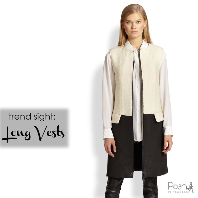 Trend Sight: Long Vest Trend