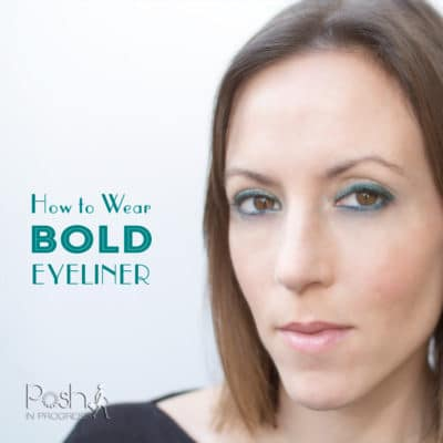 How to Wear Bold Eyeliner