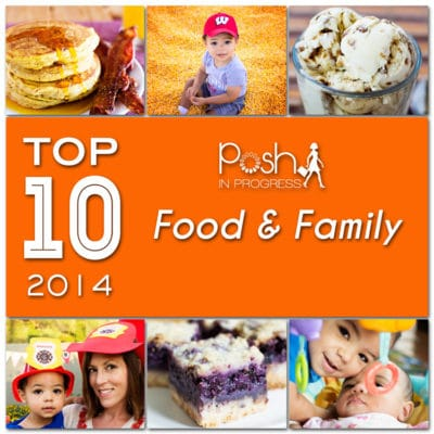 Top 10 Family and Food Blog Posts of 2014
