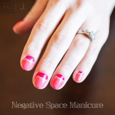 Negative Space Manicure
