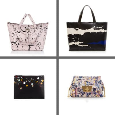 Paint Splatter Purses Trend