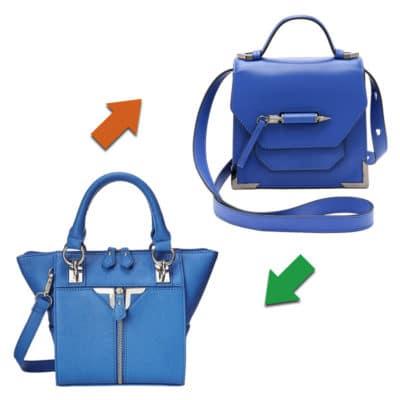 Practical or Posh: Blue Crossbody Bag