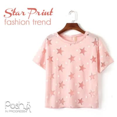 Star Print Fashion Trend