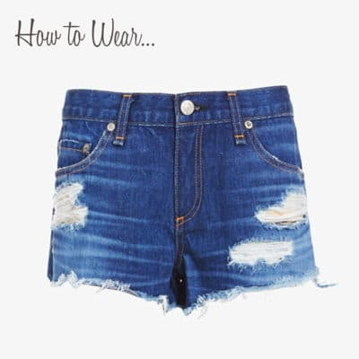 How to Wear Cut Off Jean Shorts