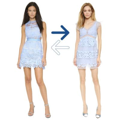 Practical or Posh: Lace Mini Dress