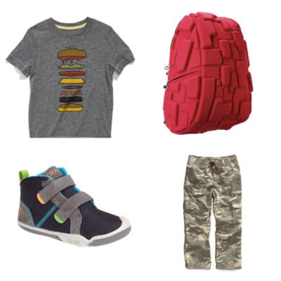 Back to School Clothes for Kindergarten Boys
