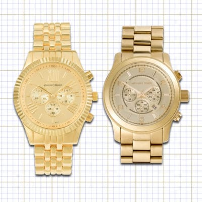Practical or Posh – Gold Chronograph Watch For Women