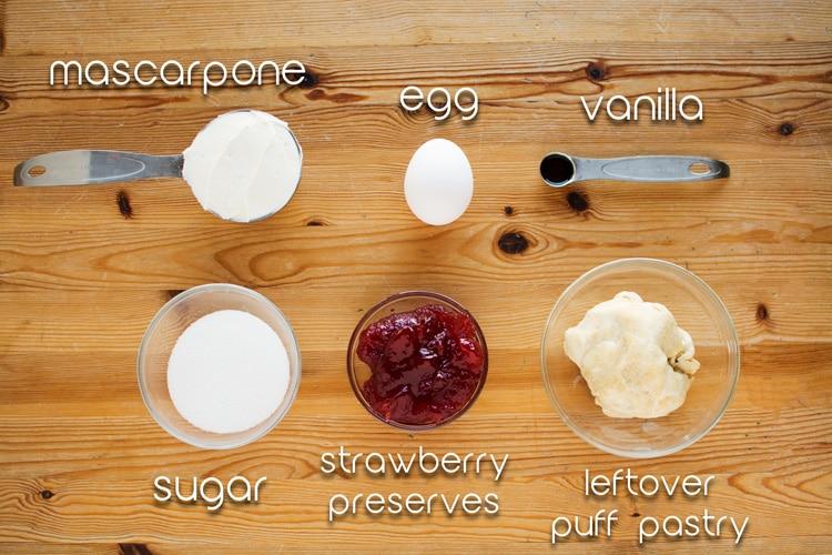 Puff Pastry and Mascarpone Danish Recipe featured by top LA lifestyle blogger, Posh in Progress