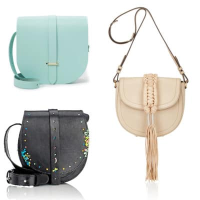 Spring Trend: Saddle Bag Purses