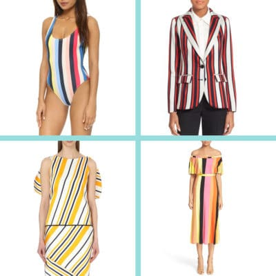 Multi-Colored Stripes is the Best Spring Trend