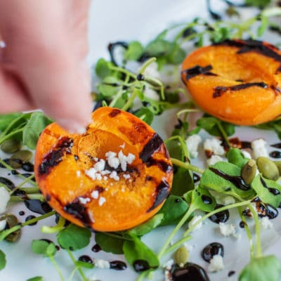 How to Make This Easy Grilled Apricot Salad Recipe