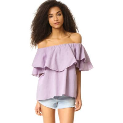 You Need to Know How to Wear an Off Shoulder Shirt