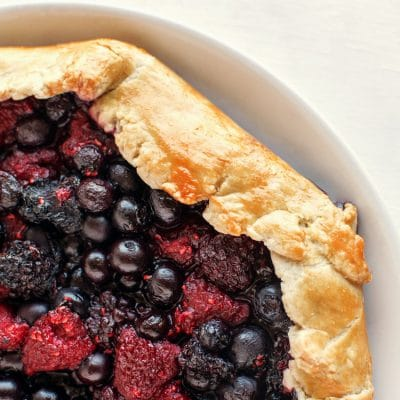 Mixed Berry Galette with the Best Pie Crust