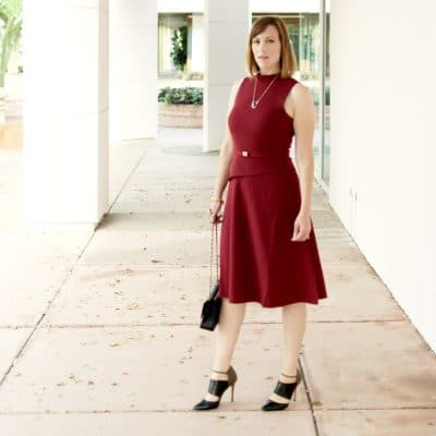 The Best Burgundy Dresses For Fall