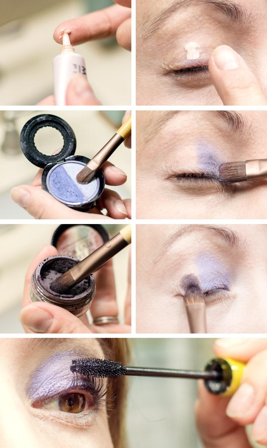 Mellow & brown cut crease eye makeup tutorial | fashionisers©.