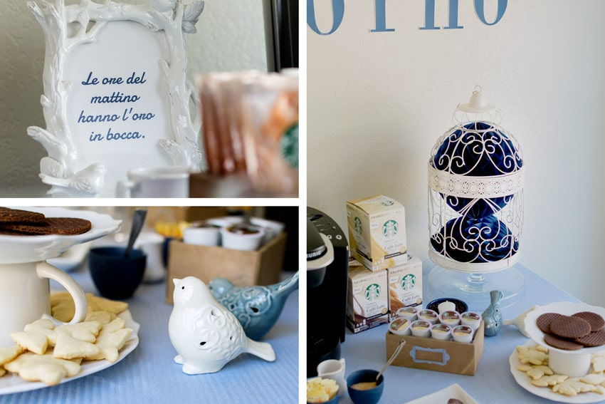 6 Cute and Simple Coffee Party Ideas featured by top LA lifestyle blogger, Posh in Progress