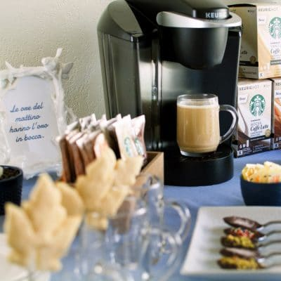 These 6 Simple and Cute Coffee Party Ideas Will Make You Think of Italian Coffee Bars
