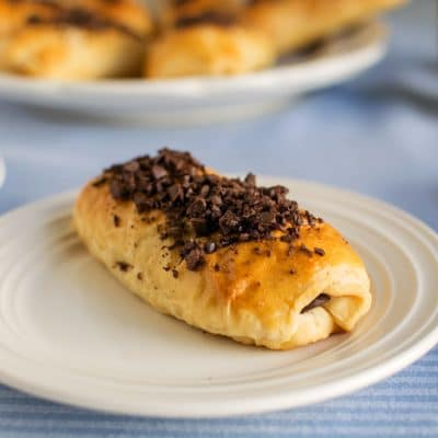 This is the Easiest Chocolate Croissant Recipe Ever