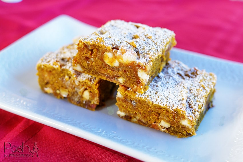 Think You Can Resist These Pumpkin Spice Blondies?