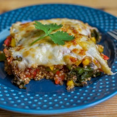 This Mexican Quinoa Bake is the Perfect Make Ahead Healthy Lunch