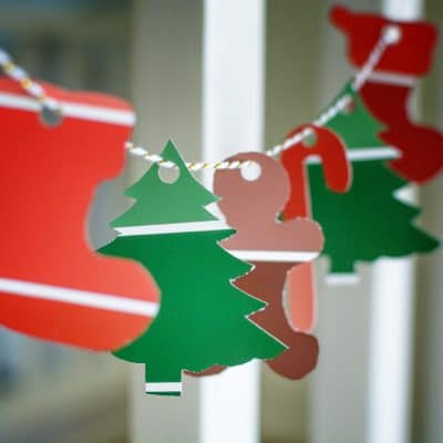 Why DIY Christmas Garland is the best of the Paint Sample Crafts