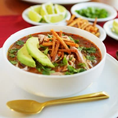 How to Make this Game Changing Healthy Crockpot Enchilada Soup